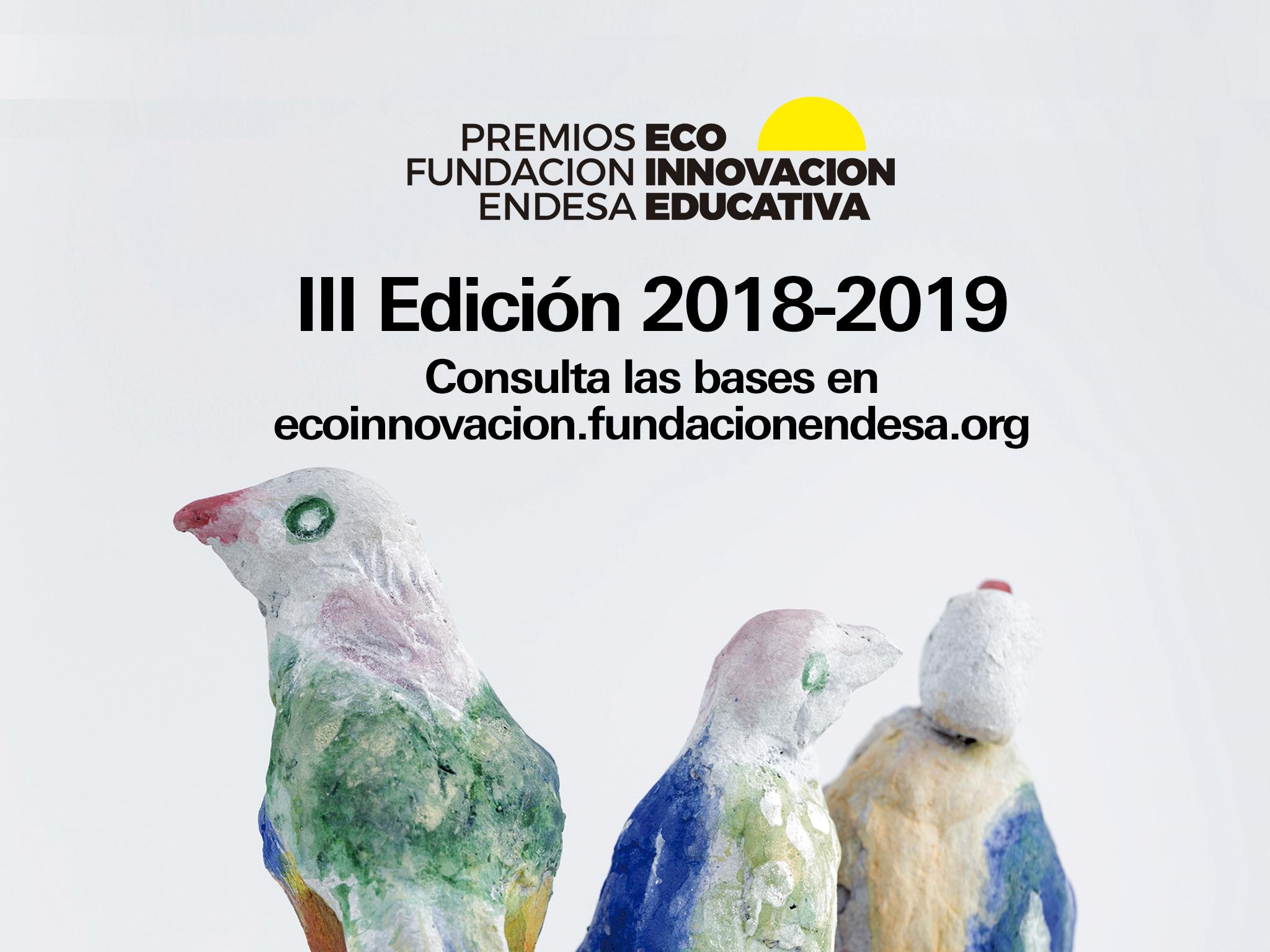 Resultado de imagen de III Premios Fundación Endesa a la Ecoinnovación Educativa